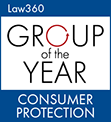 Law360 - 2018 PRACTICE GROUP OF THE YEAR - CONSUMER PROTECTION