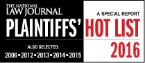 Plaintiffs Hot List 2016